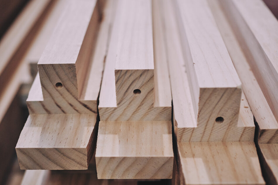 Acetylated Wood