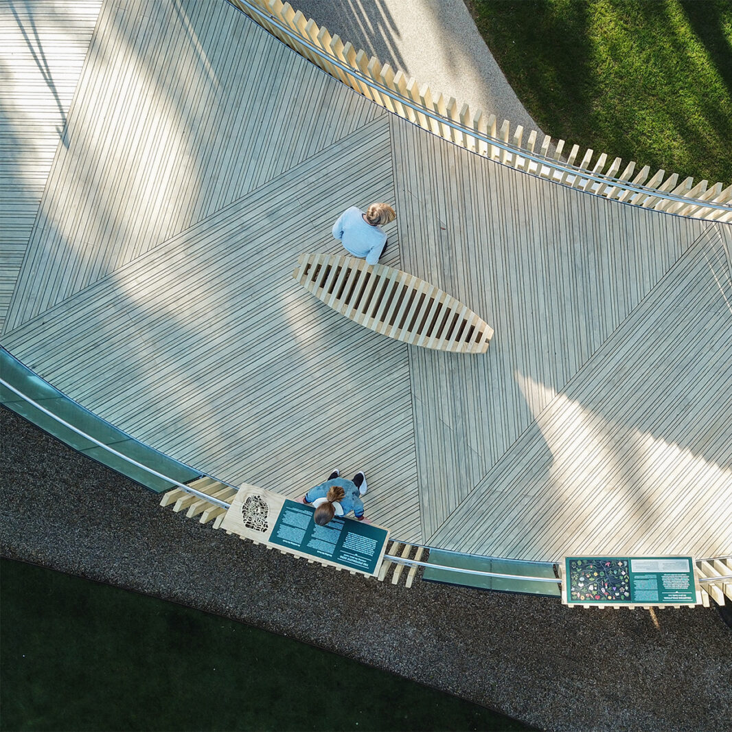 Accoya antislip outdoor decking selected by the prestigious Cambridge University