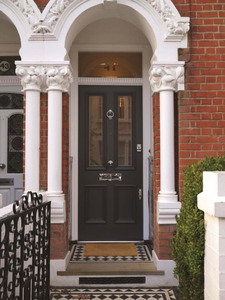 What is the advantage of doors made with Accoya wood?