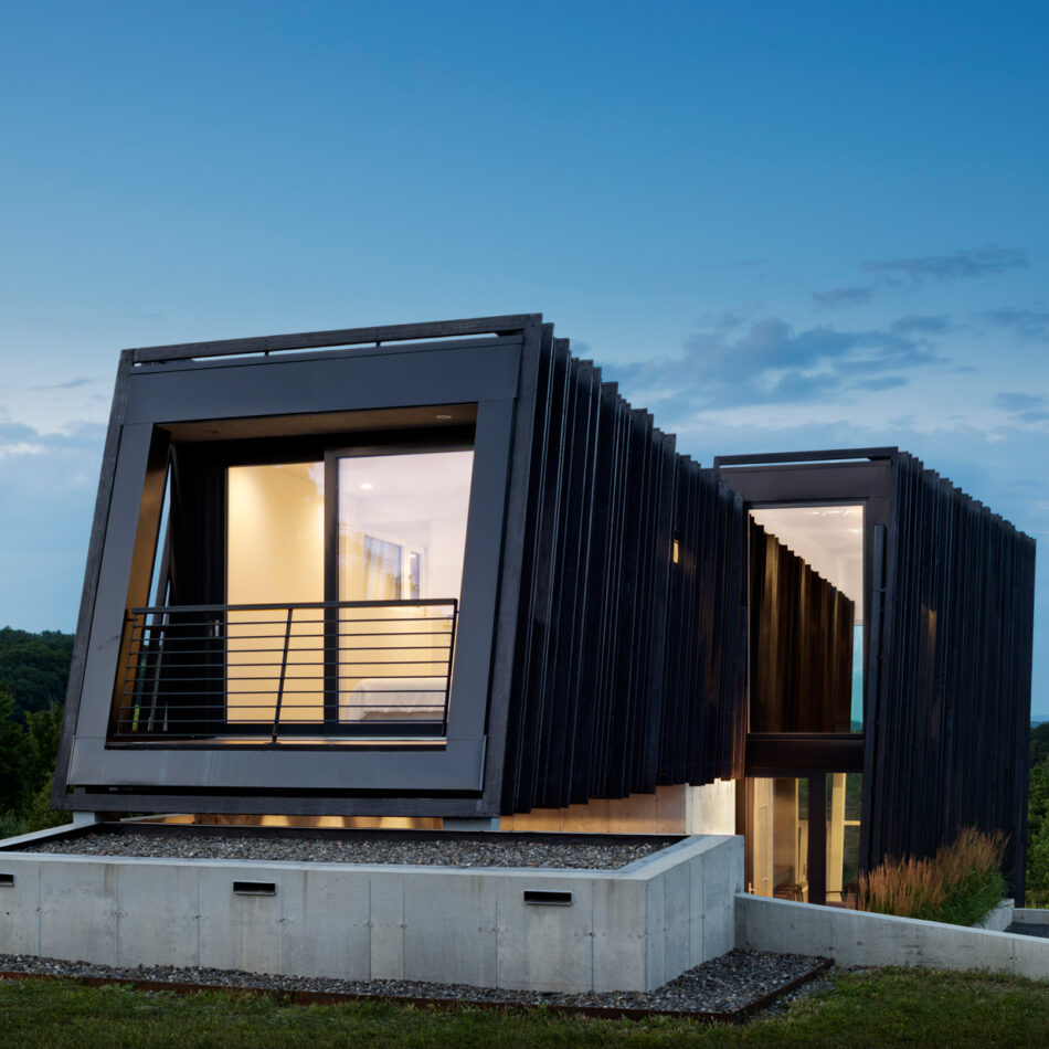 10 examples of outstanding wooden façades that don't disappoint.
