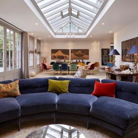 Modern and stylish orangery extension incorporates Accoya® wood