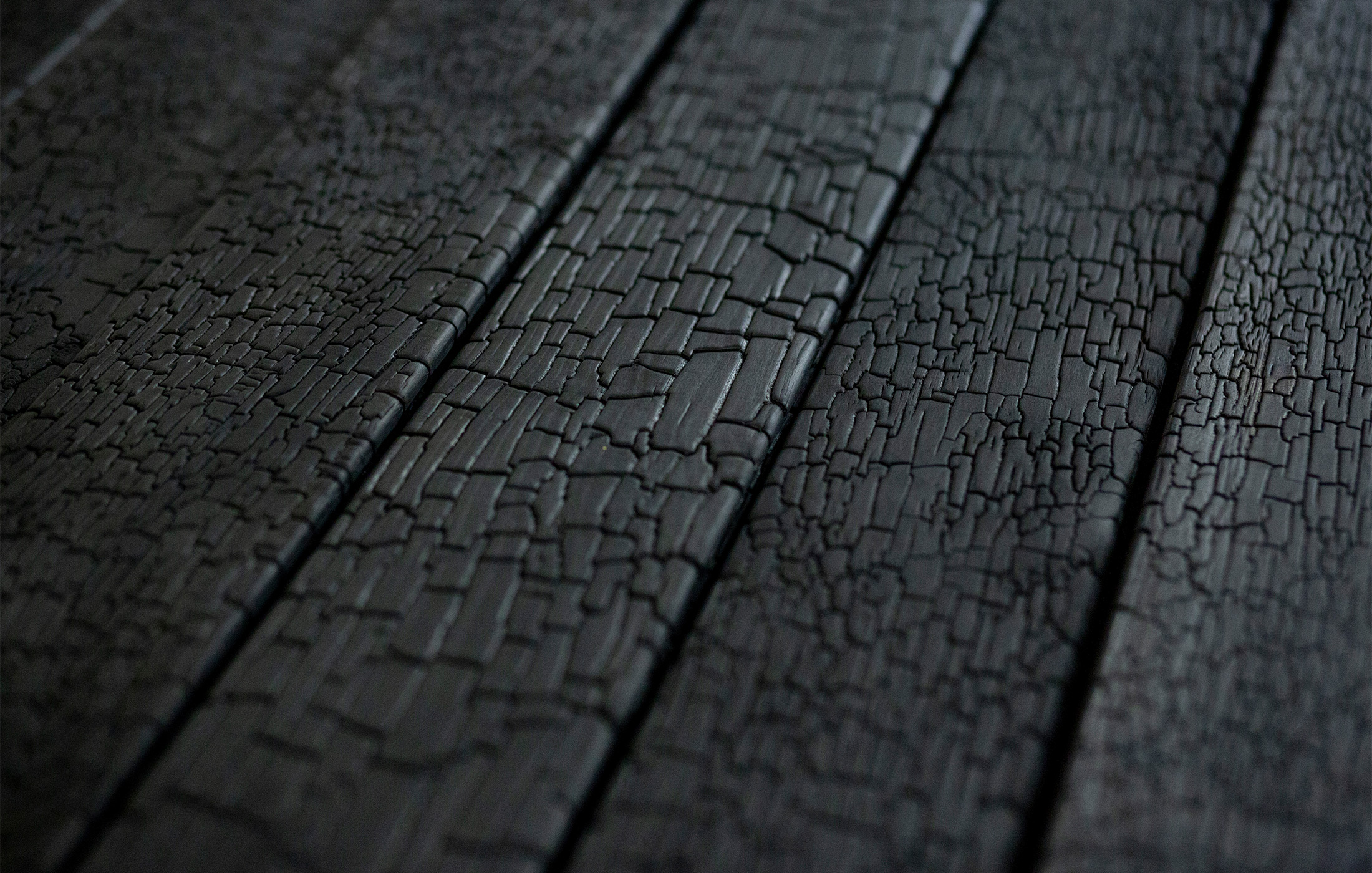 Black is Back! Charred timber is all the rage amongst architects and designers