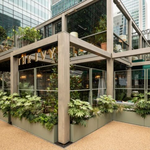 Accoya® selected for the latest Ivy Collection restaurant opening