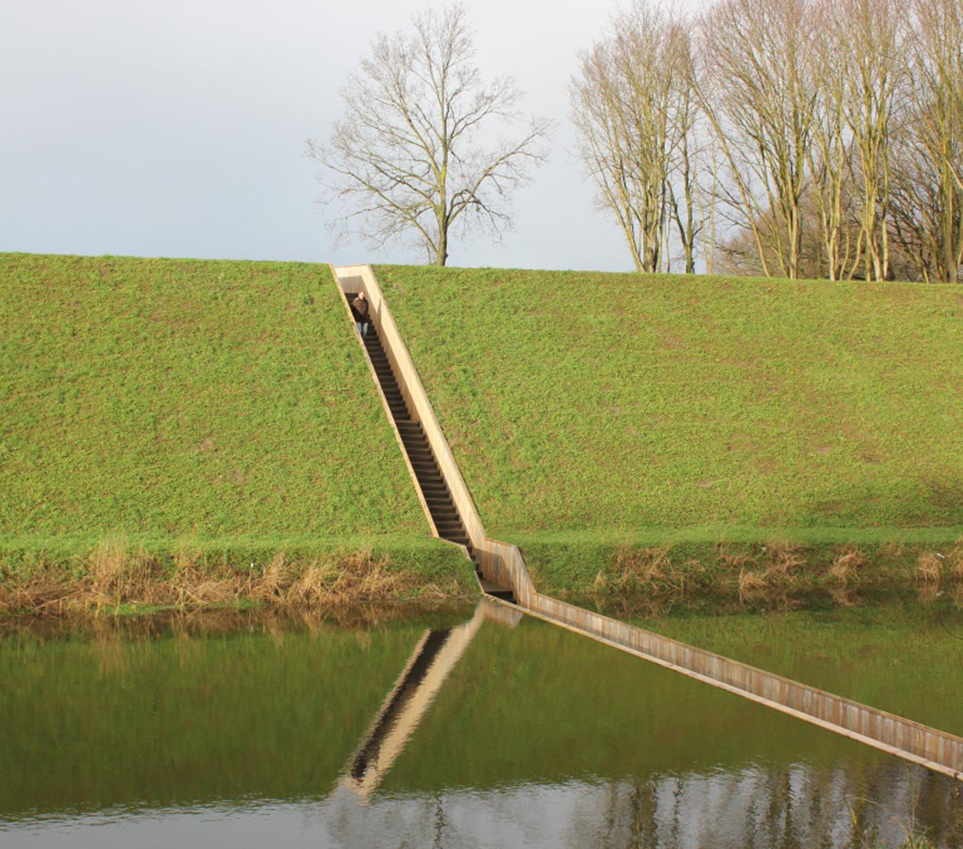 Moses Bridge, West Brabant Water Line, The Netherlands