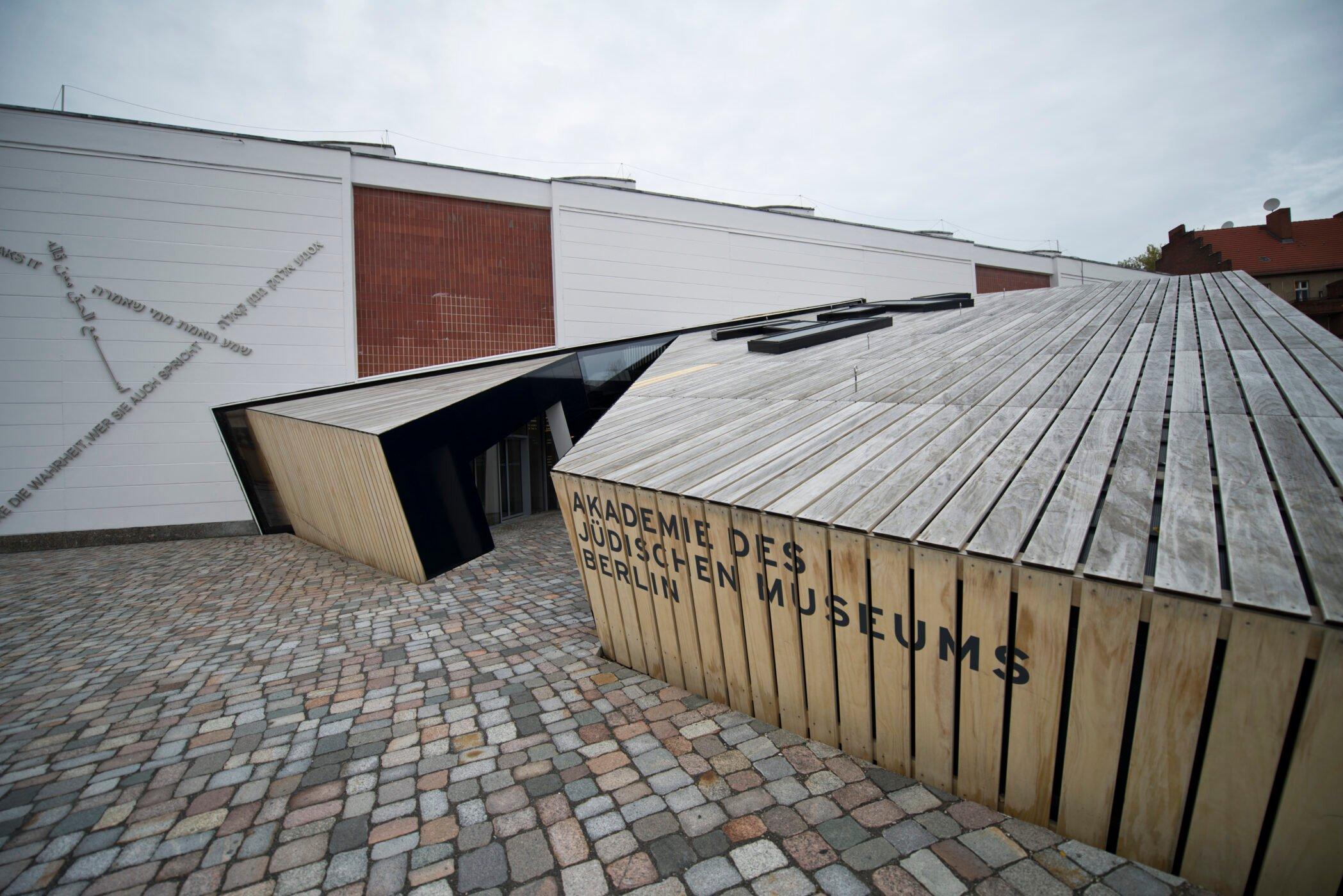 Accoya Holzfassade für die Akademie des Jüdischen Museums in Berlin