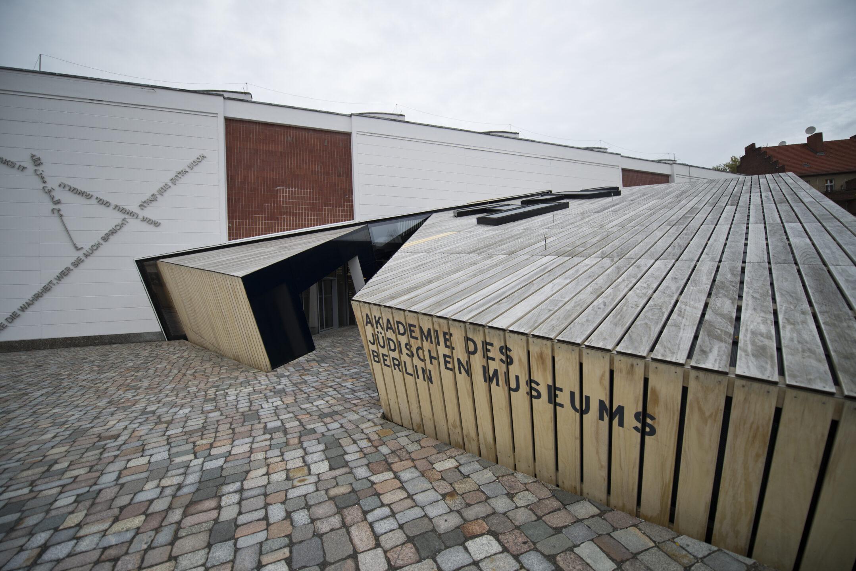 Accoya Holzverschalung für die Akademie des Jüdischen Museums in Berlin