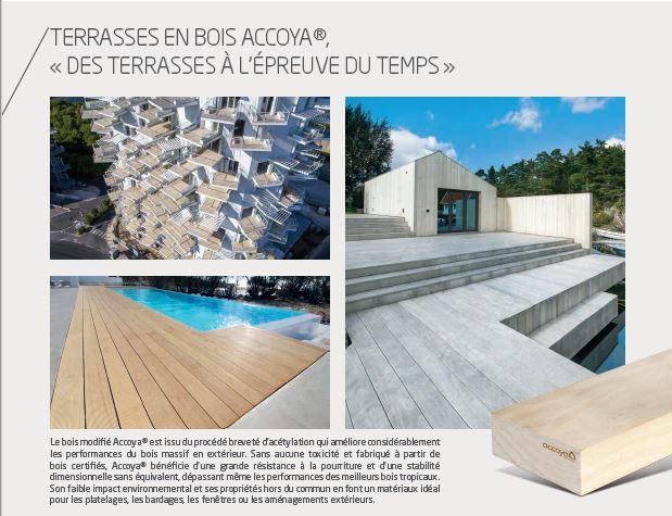 Brochure Terrasse bois Accoya