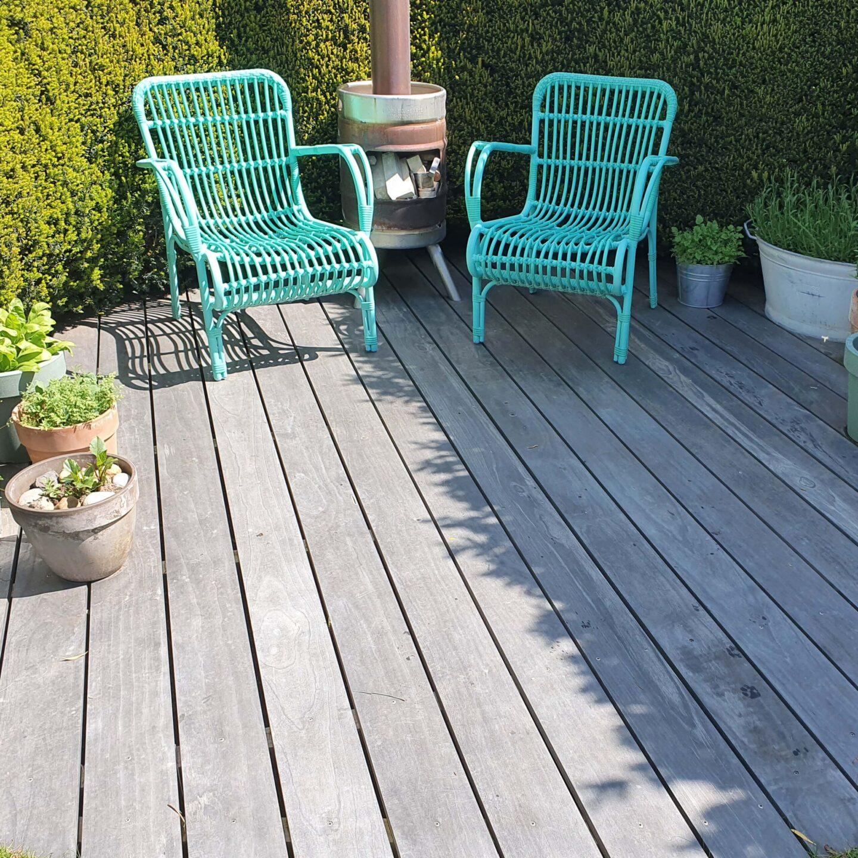 Terrasse Accoya Color Gray après 12 mois