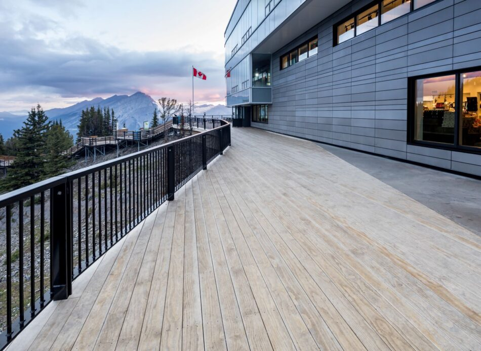 Dimensionally stable decking