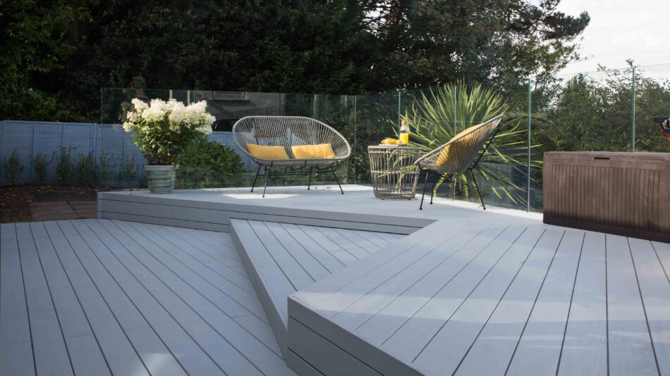 The natural charm of timber decking